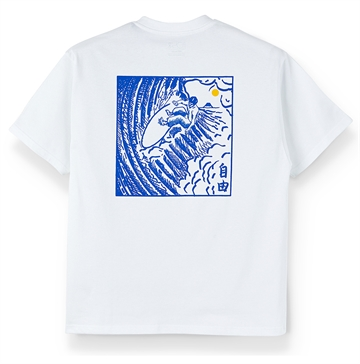 Polar Skate Co T-shirt Shin White