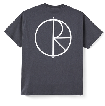Polar Skate Co T-shirt Stroke Logo Graphite