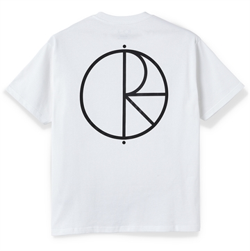 Polar Skate Co T-shirt S/S Stroke logo White
