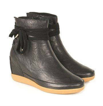 Shoe The Bear Emmy Star Leather Black