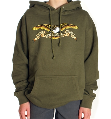 Anti Hero Hoodie Adult Eagle Army