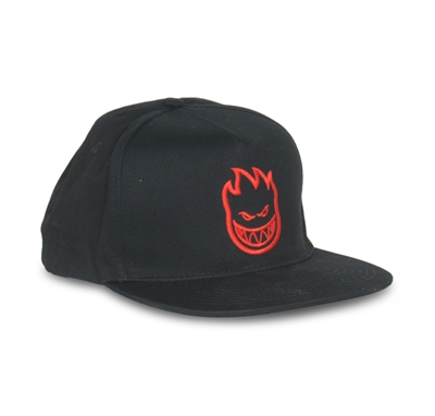 "Spitfire Kasket ""Snap Back"" Black"