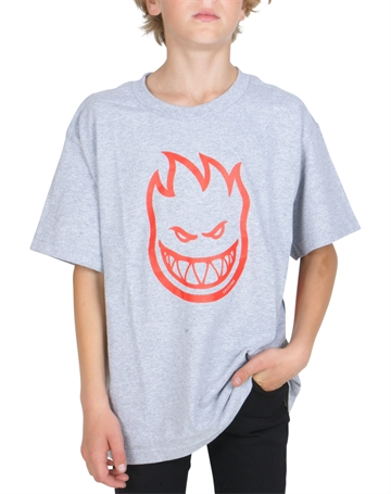 Spitfire T-shirt Bighead Grey red