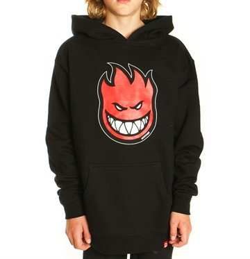 Spitfire Youth Hood black red fill