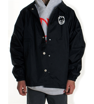 Spitfire Jacket Coach Youth BigHead Black