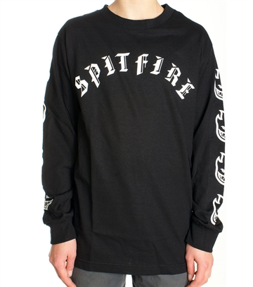 Spitfire Tee Adult l/s Old E premium print