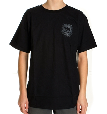 Spitfire Tee Adult Petaburn Black Grey