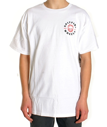 Spitfire Tee Adult Classic BigHead White