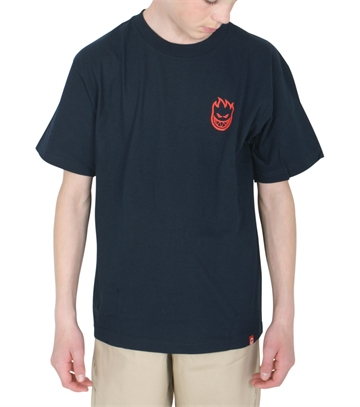 Spitfire T-shirt s/s Navy/Red