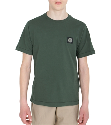 Stone Island T-shirt MO711620147 V0053 Bottle Green