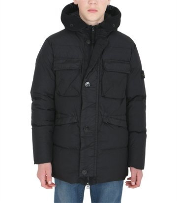 Stone Island Down Jacket 711640233 Black