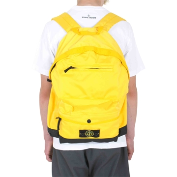 Stone Island Backpack Yellow