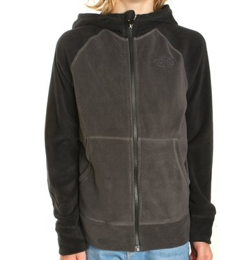 The North Face Boy´s Glacier full zip Fleece Grey/Black