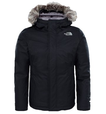 The North Face Girls Greenland Parka Black