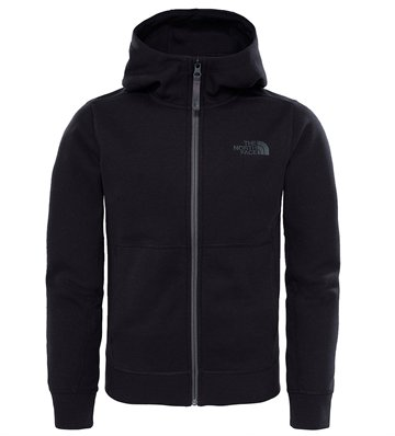 The North Face Boy´s Mountain Slacker Hoodie Black