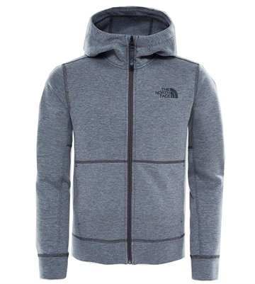 The North Face Boy´s Mountain Slacker Hoodie Medium Grey Heather