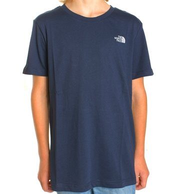 The North Face Junior T-shirt Dome Cosmic Blue 149,-