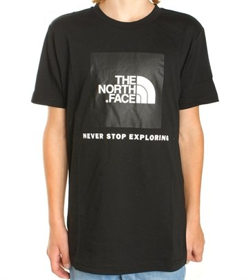 The North Face T-shirt Box s/s Black