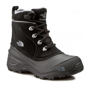The North Face Boots Chillkat Lace II Black / Zinc Grey