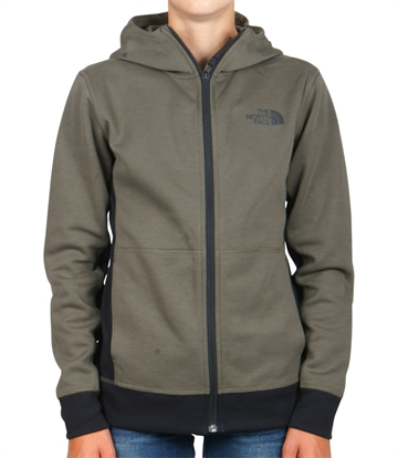 The North Face Hoodie Slacker New Taupe Green