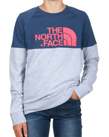 The North Face Tee l/s Easy Wing Teal