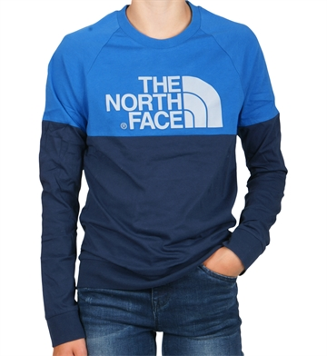 The North Face Tee l/s Easy Cosmic Blue