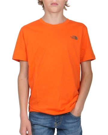 The North Face T-shirt s/s Dome Persian Orng