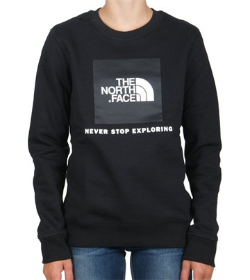 The North Face Box Drew  sweatshirt crewneck Black