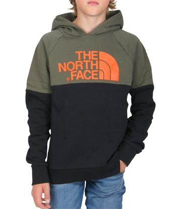 The North Face Drew Hoodie Raglan Taupe Green
