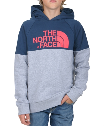 The North Face Drew Hoodie Raglan Blue Wing / Teal