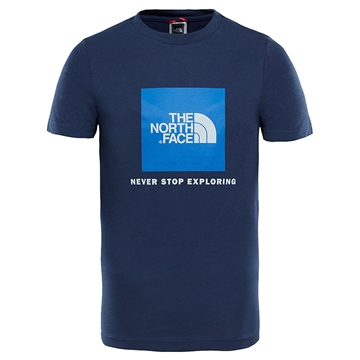 The North Face T-shirt Box s/s Blue
