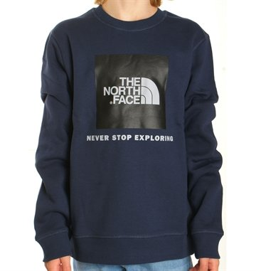 The North Face Sweatshirt Box Drew Peak Cosmic Blue