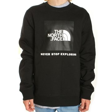 The North Face Sweatshirt Box Drew Peak Black