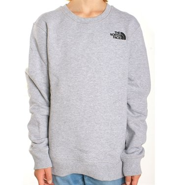The North Face Sweatshirt Drew Peak Light Grey Heather