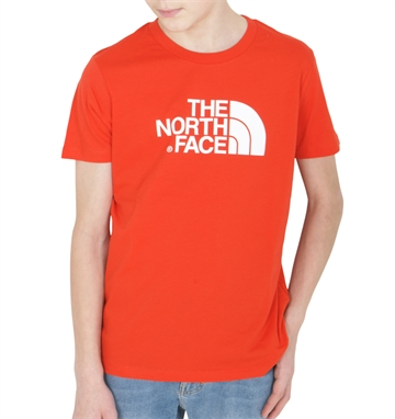 The North Face Easy Tee SS Fiery Red