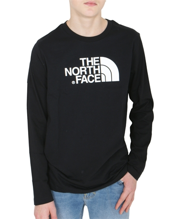 The North Face Easy Tee LS Black