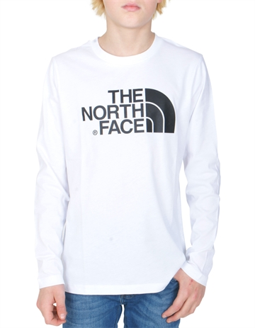 The North Face T-shirt Easy l/s tnf White