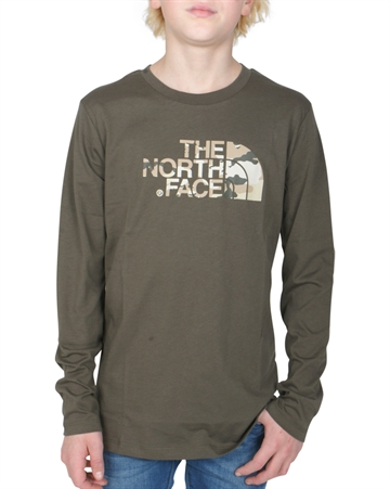 The North Face T-shirt Easy l/s tnf New Taupe
