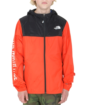 The North Face VindJakke Reactor fiery red