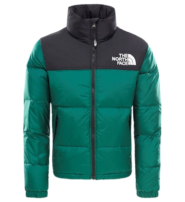 The North Face Dun Jakke Nuptse Night green