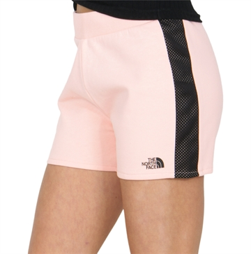 The North Face Girls Fleece Shorts Impatiens Pink