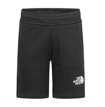 The North Face Y Fleece Shorts Black/White