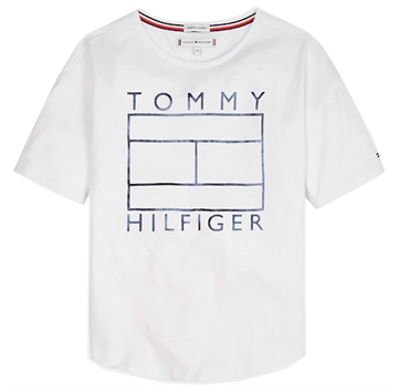 Tommy Hilfiger Girls Foil Tee s/s Bright White