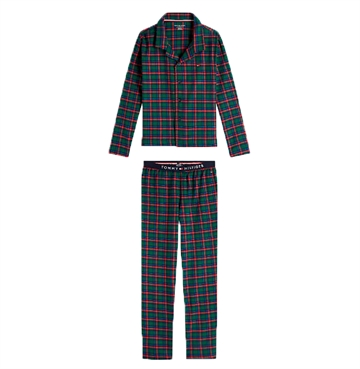 Tommy Hilfiger Pyjamas Flannel Set Navy Blazer