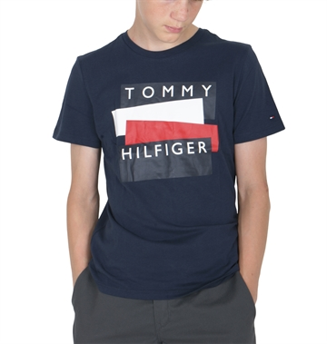 Tommy Hilfiger T-shirt Sticker 05849 Twilight Navy