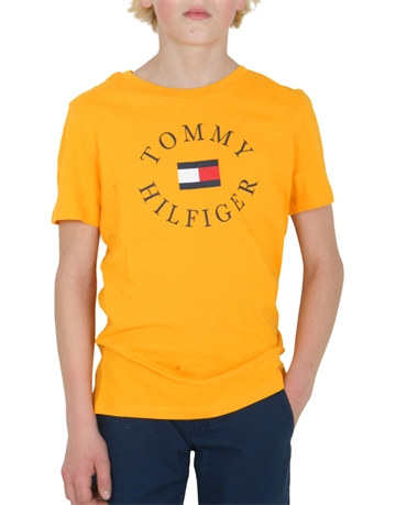 Tommy Hilfiger Boys T-shirt Yellow 04676