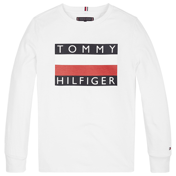Tommy Hilfiger Boys Essential Tee l/s Bright White