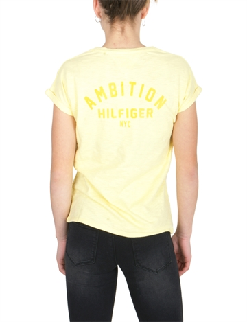 Tommy Hilfiger Girls Tee Ambition s/s Lemonade 04199