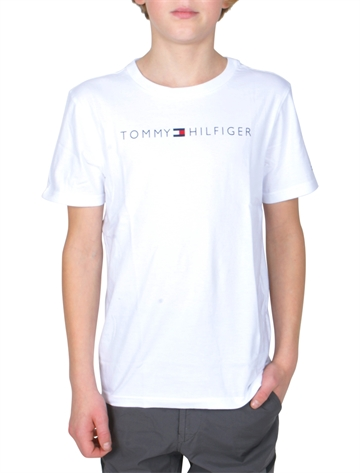 Tommy Hilfiger T-Shirt Ess. Tommy Logo 04865 White