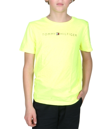 Tommy Hilfiger T-Shirt Ess. Tommy Logo 04865 Safety Yellow